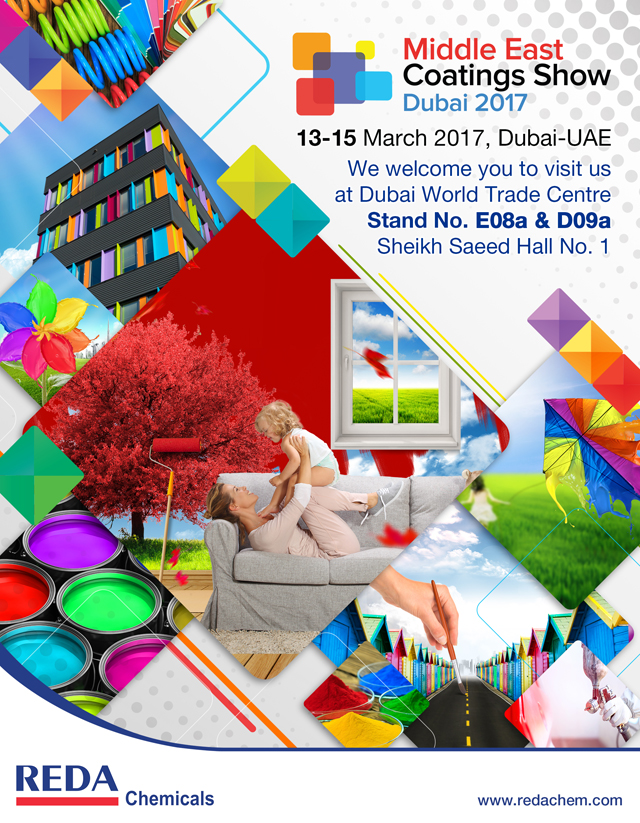 Invitation to Middle East Coatings Show 2017