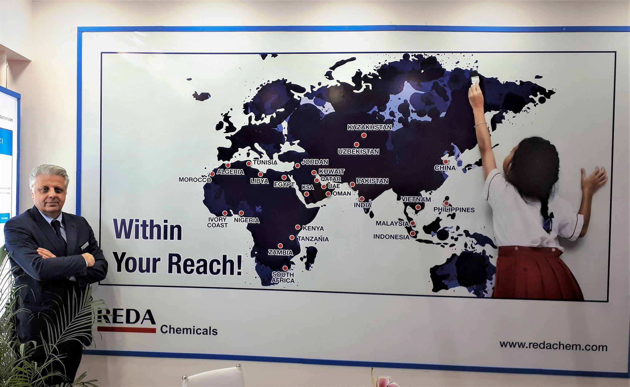 The United Nations of REDA – REDA Chemicals