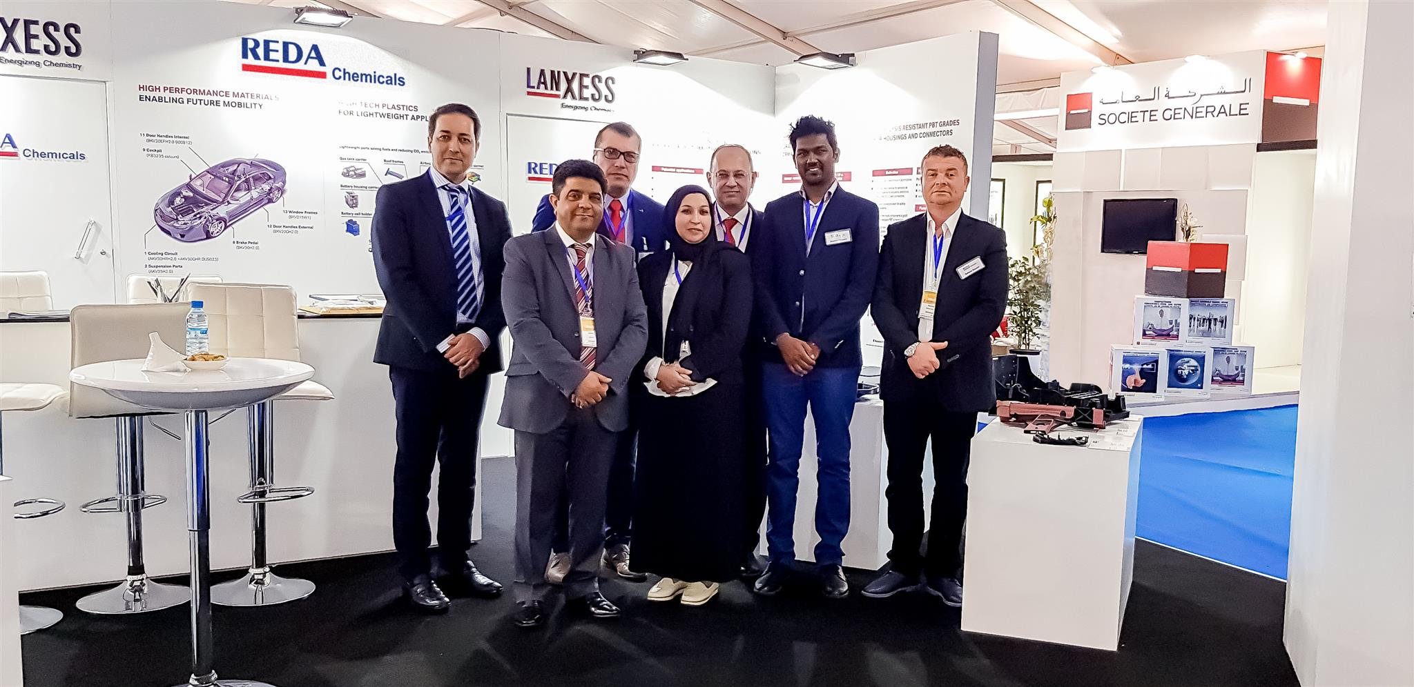 REDACHEM Maghreb & Lanxess Exhibition in Tangier – Morocco – REDA