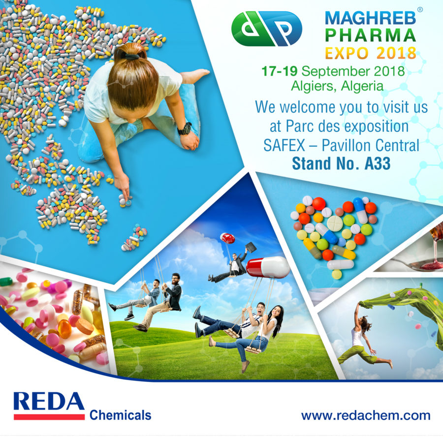 Maghreb Pharma Expo 2018 Invitation