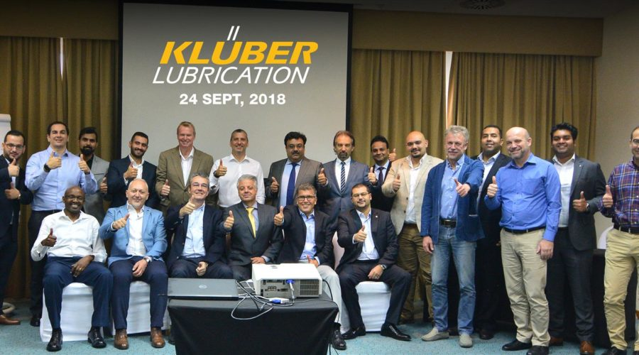 Channel Partners Sales Meeting with Kluber Lubrication